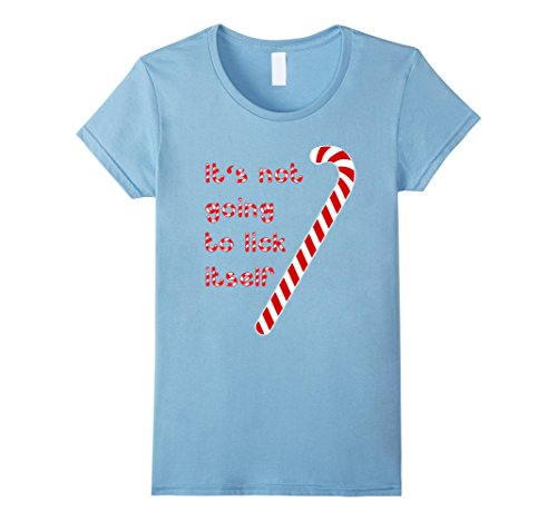 Women's Funny Christmas Holidays T-Shirt Candy Cane Humor...