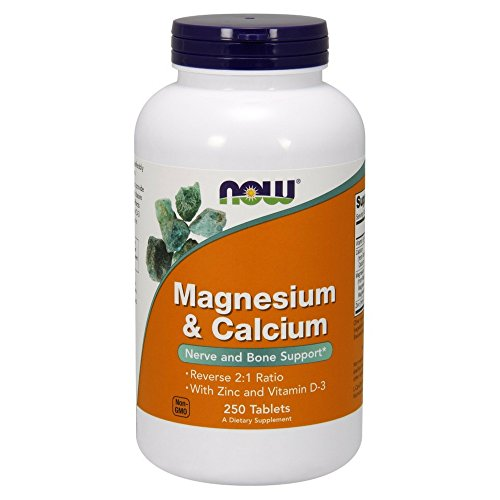 Now Magnesium & Calcium,250 Tablets
