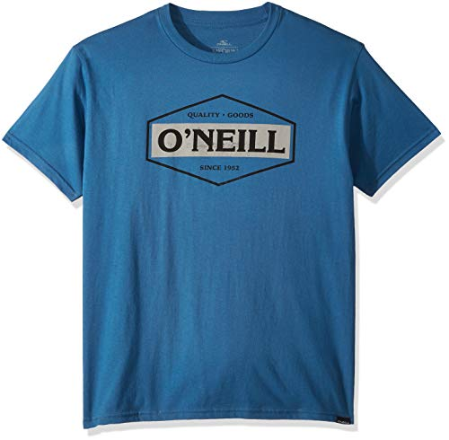 - O'Neill Men's Modern Fit Logo Short Sleeve T-Shirt, The Goods Air Force Blue, XL