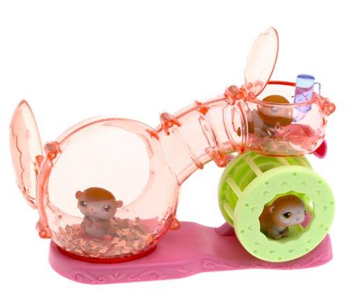 Happy Hamster - Littlest Pet Shop Figures Playset Happy Hamsters