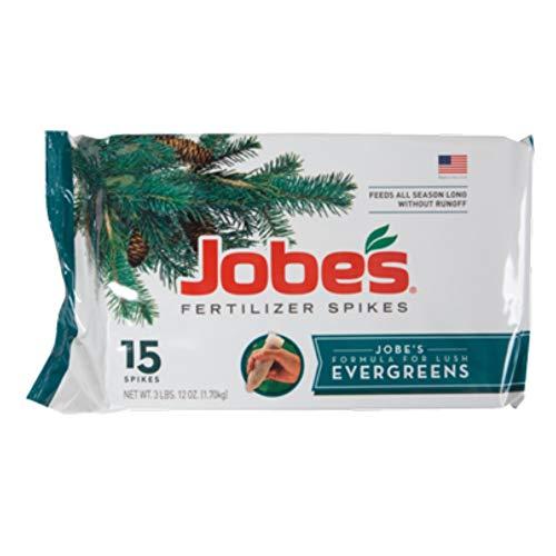 Jobe's Organics Fertilizer Spikes (Evergreen, 15 - Evergreen Spikes