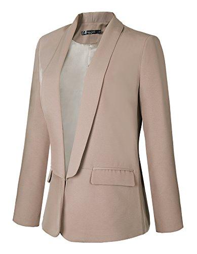 Urban-CoCo-Womens-Office-Blazer-Jacket-Open-Front