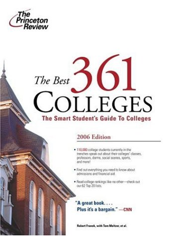 Best 361 Colleges, 2006 (College Admissions Guides) (The Best 361 Colleges)
