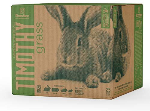 - Standlee Hay Company Premium Timothy Grass Hand-Selected Forage, 25 lb Box