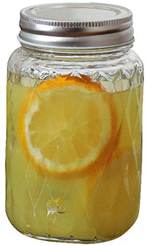 glass barrel jar - 6