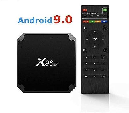 Smart TV Box X96 Mini Android 7.1 4K 4GB RAM 32GB ROM IPTV + Control Remoto: Amazon.es: Electrónica