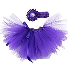 Baby Girls Tutu Skirt with Headband Ideal Photo Props Outfits