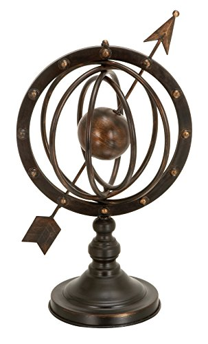 Deco 79 66472 Metal Armillary Stand, 17