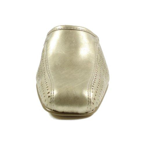 Ornela Brenti 31732-593 Damen Schuhe Premium Qualität Clog Gold (altgold)