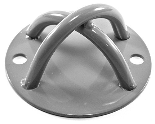 New Wall & Ceiling Anchor X Mount Bracket Hook for Suspension Straps, Olympic Rings, Yoga, Resistance Bands