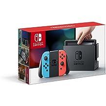 Consola Nintendo Switch - Edición Estándar - Importado - Neón Rojo/Azul