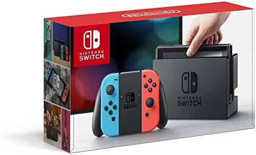 Nintendo Switch – Neon Red and Neon Blue Joy-Con - HAC 001