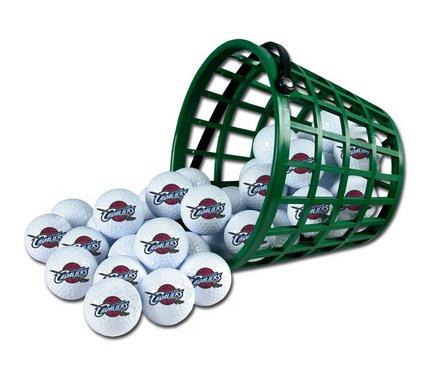 Wincraft NBA Cleveland Cavaliers Bucket of 36 Golf Balls