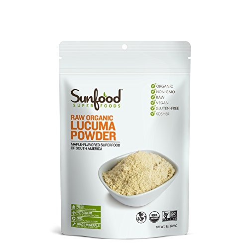 Sunfood Lucuma Powder, 8oz, Organic, Raw