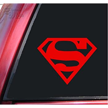 Chic Yoonek Graphics Superman Decal Sticker For Car Window Laptop