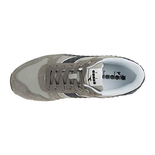 Diadora Uomo a Sneaker blu II Titan Profondo Grigio Basso C4747 Paloma Collo 7w6r74x