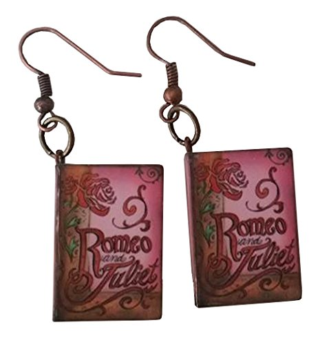 Lady Capulet Costumes (Romeo and Juliet Story Book Dangle Earrings)