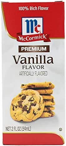 Extracts: McCormick Premium Vanilla Flavor