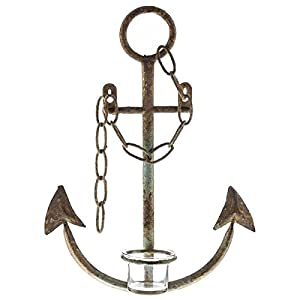 41R9GioJH7L._SS300_ 100+ Nautical Anchor Decorations and Decor