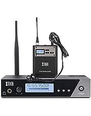 XTUGA IEM1100 UHF - Sistema de monitor de oído inalámbrico de frecuencia seleccionable para escenario, estudio, exposición, conferencia, voz