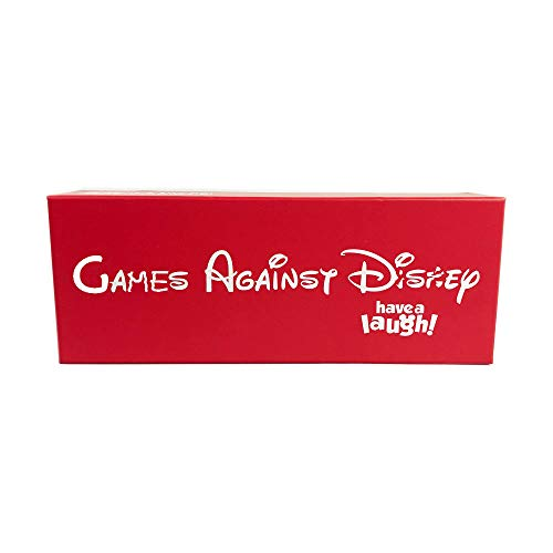 Games Against Disney red Box Edition Contains 828 Cards 260 Black Cards, 568 White Cards