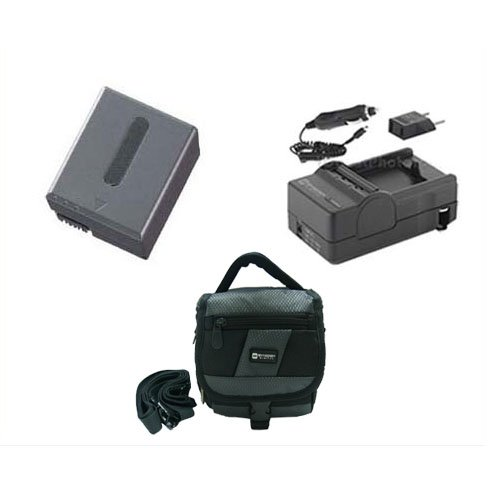Sony DCR-HC1000 Camcorder Accessory Kit includes: SDC-27 Case, SDNPFF70 Battery, SDM-102 Charger ()