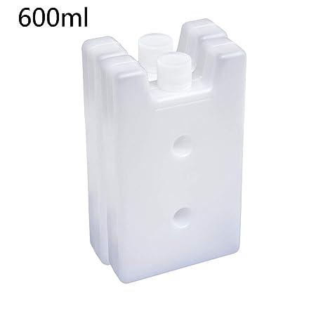 2 bloques de congelador, bloques de hielo reutilizables - Enfría y ...
