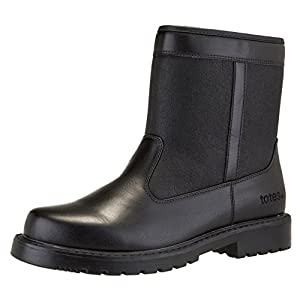 totes Men's State Waterproof Side Zip Snow Boot