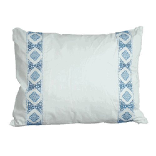 Marrakesh Pillow, Breakfast, White (Marrakesh Euro Sham)