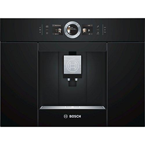 Bosch CTL636EB6 Kaffeemaschine / 2.4 / 59,4 cm / Automilk Clean Eine vollautomatische Dampf-Reinigung nach jedem Getränk / schwarz