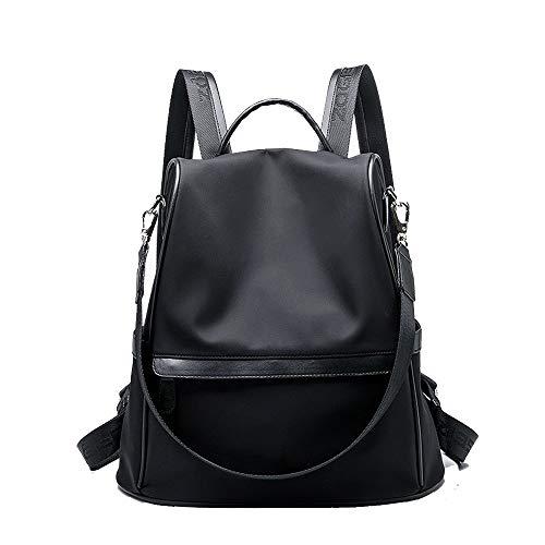 Marea Zaino Casual Viaggio Coreana Selvaggia Della Black Tela Femminile Versione Borsa color Black Signore Oxford rpxwUqrRIH
