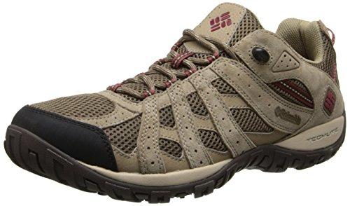 Columbia Men's Redmond Trail Shoe - Saddle / Garnet Red -...