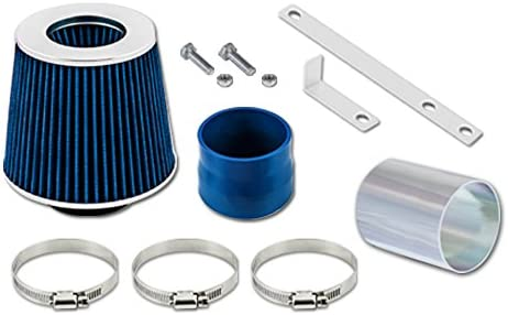 Velocity Concepts Black Short Ram Air Intake Kit Filter 04-08 Pontiac Grand Prix 3.8L V6