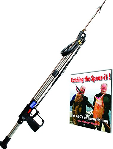 AB Biller SS48 Stainless Steel Professional Speargun, 48'