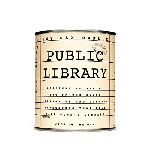 Cool Material Public Library Candle - Old Book Scented Candle