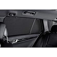 Car Shades BMW-5SER-4-B Juego Compatible con BMW Serie 5 E60 Berlina 2004-2010