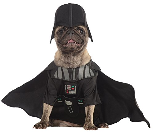 Official Pet Dog Cat Star Wars Darth Vader Fancy Dress Costume Outfit Clothes from Fancy Me