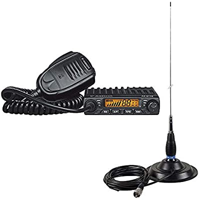 Albrecht Radio KIT 6110 ASQ and Antenna PNI ML145 with Magnetic Mount 145 PL 145mm