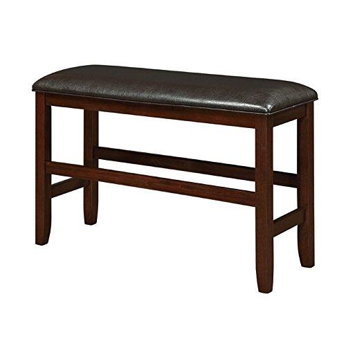 Coaster 105477 Home Furnishings Bench, Dark Cherry