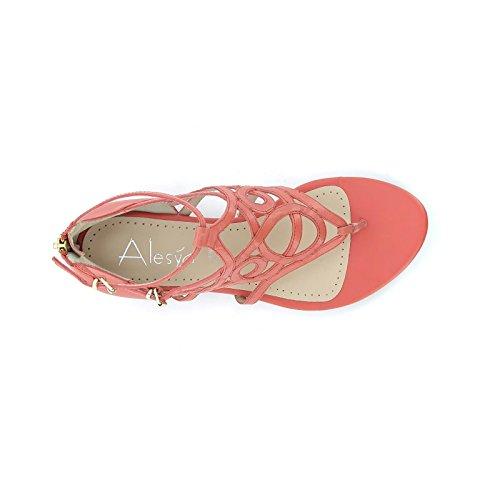 Shoes By femme basses rouge Sandales Alesya shoes R5x1fqHT5n