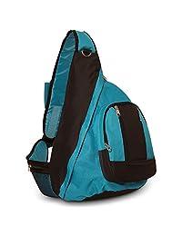 Everest Shoulder Sling Backpack Messenger Bag Turquoise
