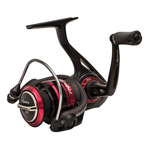 - Zebco Boxed Quantum Throttle Spinning Reel, Size 20