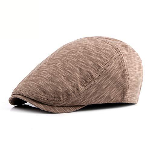 Sombrero Hombres Gorra Delantero al GLLH Boina Informal Sombrero hat Moda qin D de los Aire Sombreros Libre B F44qEzwgx