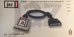 Iomega Jaz Card PCMCIA To Fast SCSI-2 Accelerator PC Card for External SCSI Jaz Drives