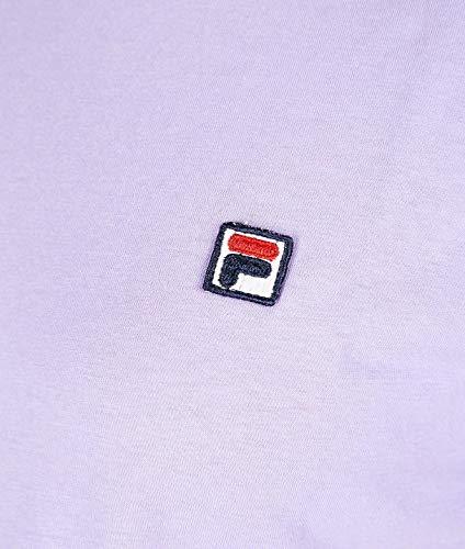 682319a025 shirt Morado Mujer T Fila Algodon g65qWxFv