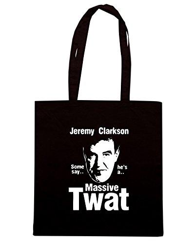 T-Shirtshock - Bolsa para la compra TCO0074 jeremy clarkson Negro