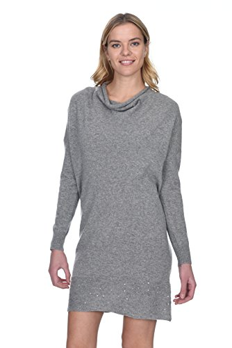 State Cashmere Women's 100% Cashmere Long Sleeve Cowl Neck ()