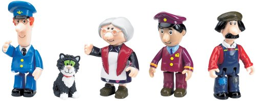 Postman Pat Toy Articulated Figures