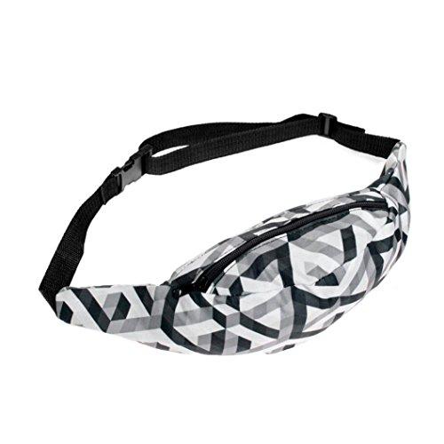 Zipper Closure Waist Pack - 3
