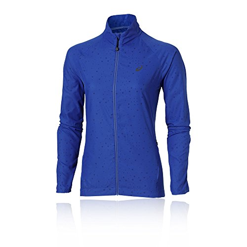 Asics Lite-Show Women's Running Jacket Blue